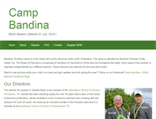Tablet Preview of campbandina.org